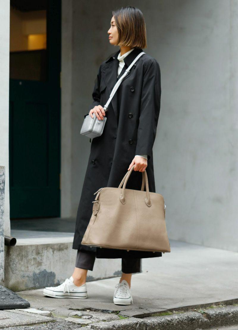 【MAURIZIO TAIUTI 】01-travel boston bag