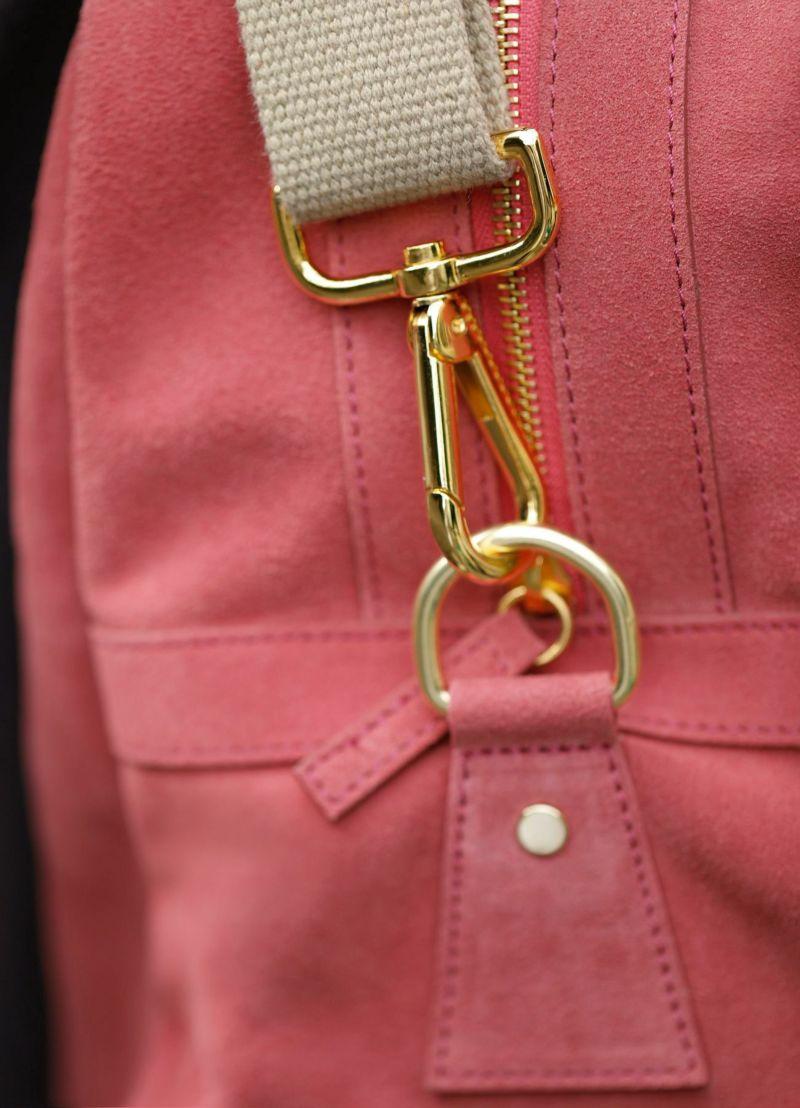 着用イメージ 167cm コーラルピンク