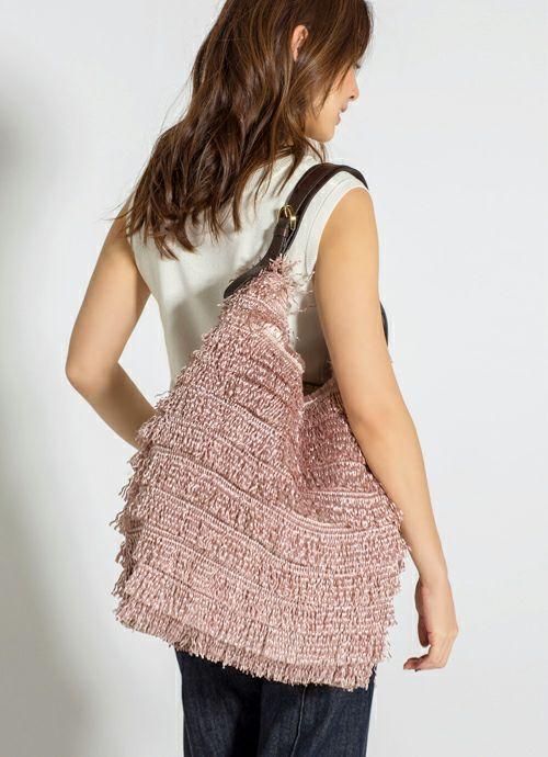 着用イメージ 169cm ピンク