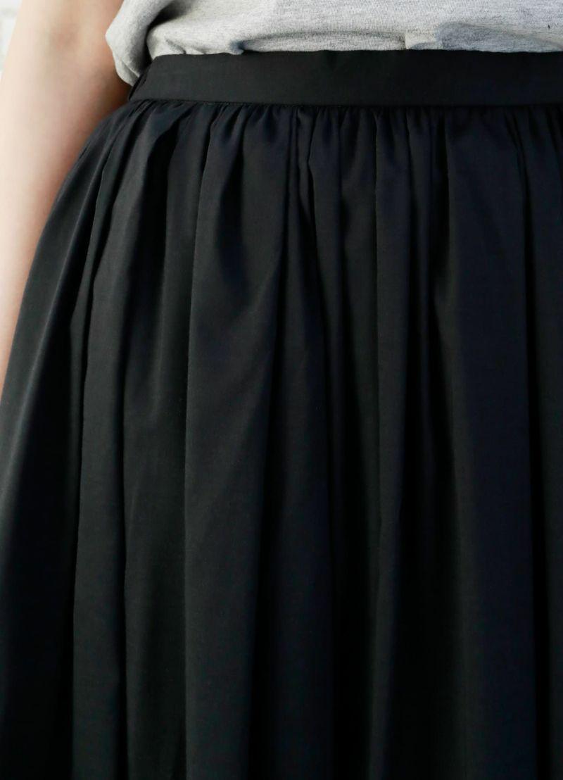 着用イメージ 167cm ブラック 着用サイズ M