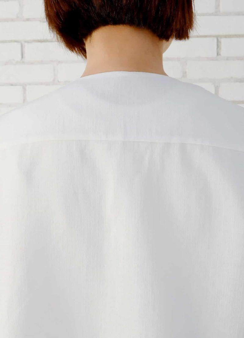 着用イメージ 167cm ホワイト
