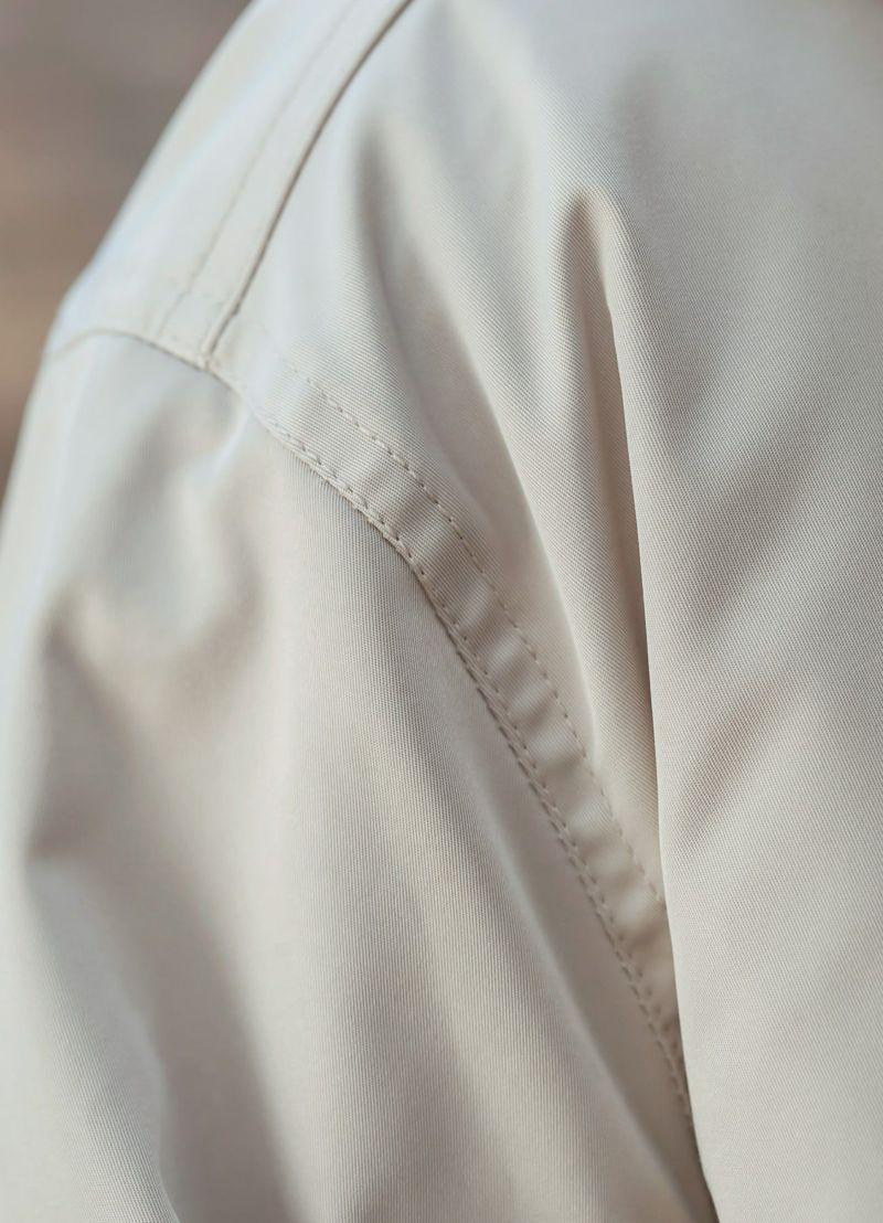 着用イメージ 166cm ブライトグレー