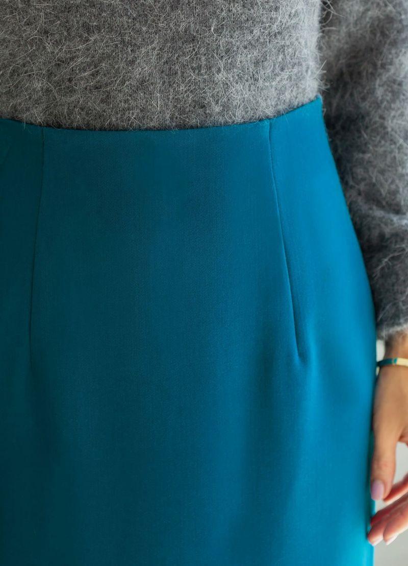 着用イメージ 166cm 着用サイズ S ブルー