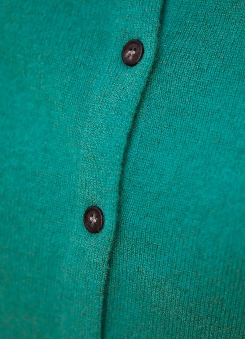 着用イメージ 167cm ブルーグリーン