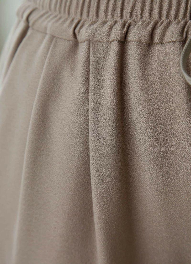 着用イメージ 169cm グレイッシュモカ 着用サイズS