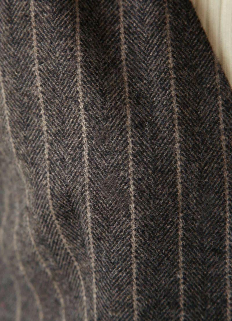 着用イメージ 168cm グレーミックス 着用サイズ01
