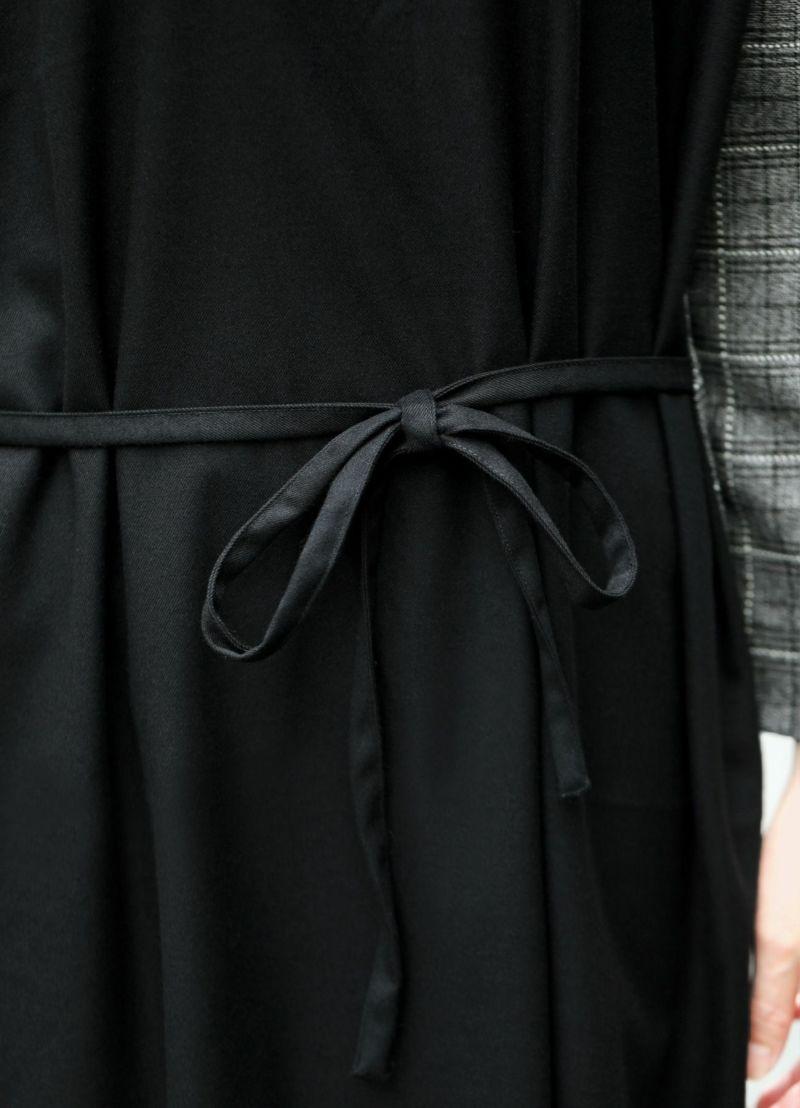 着用イメージ 166cm ブラック 着用サイズ:02