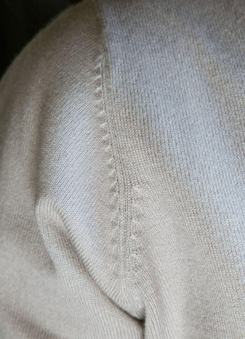 着用イメージ 168cm ニュアンスグレー