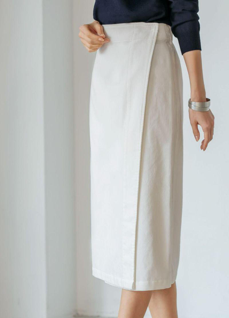 着用イメージ 168cm ホワイト 着用サイズ S