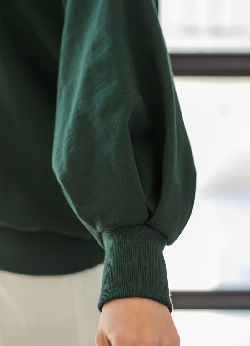 着用イメージ 166cm グリーン