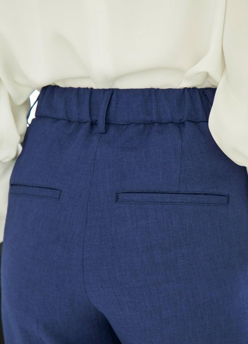 着用イメージ 166cm ブルー 着用サイズ S