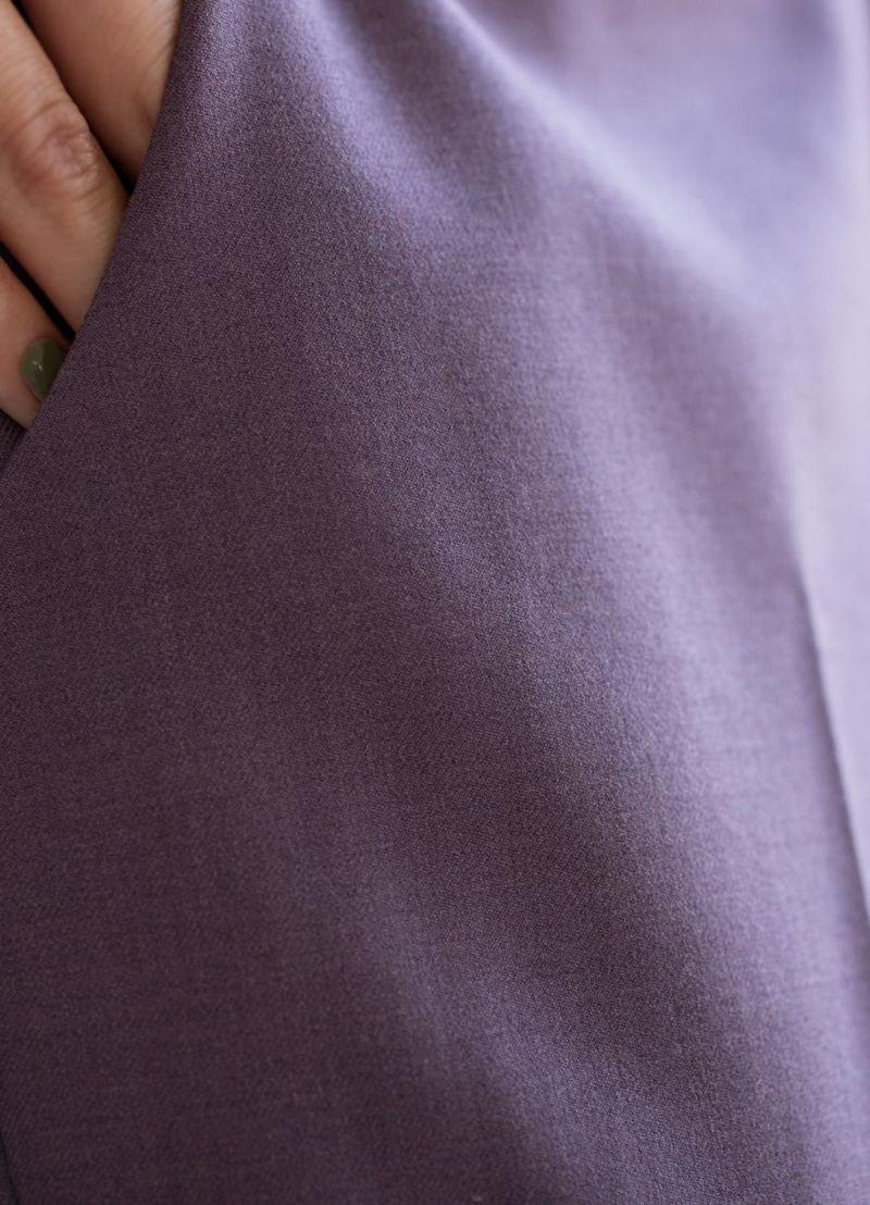 着用イメージ 168cm パープル 着用サイズ S
