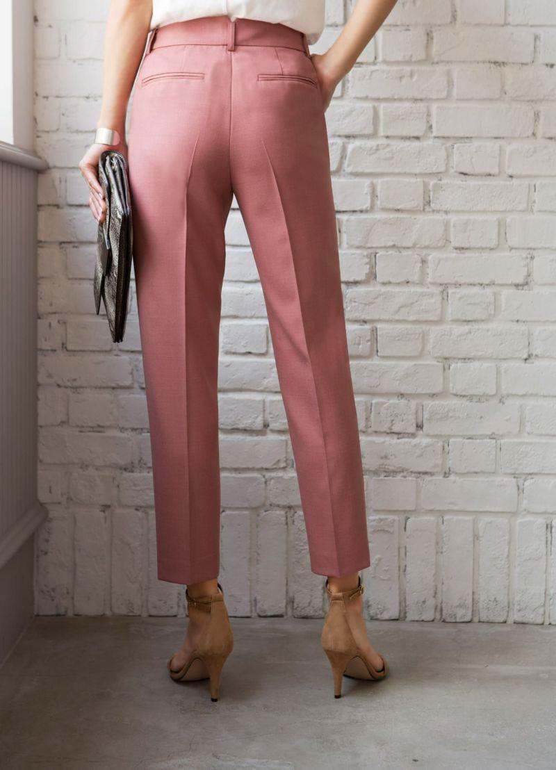 着用イメージ 166cm ピンク 着用サイズ S