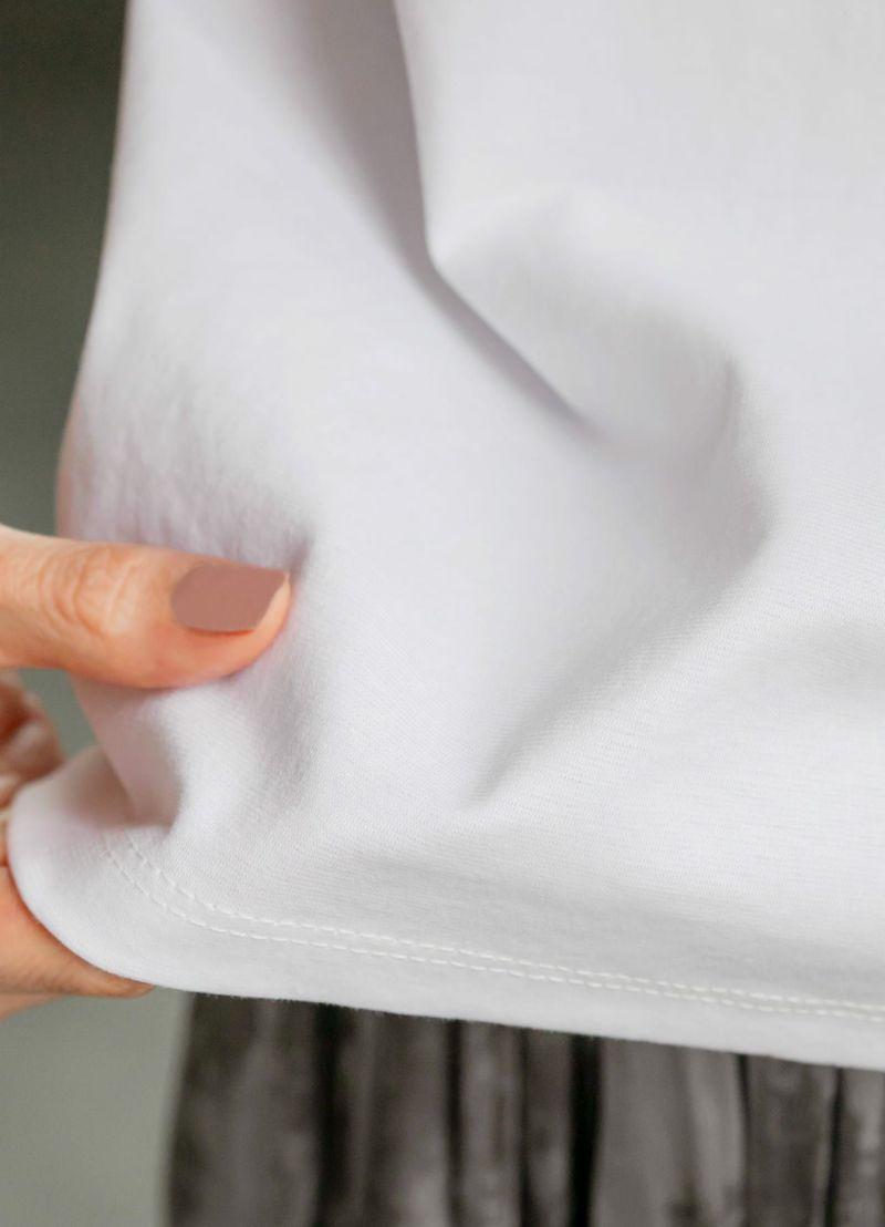 着用イメージ 166cm ホワイト