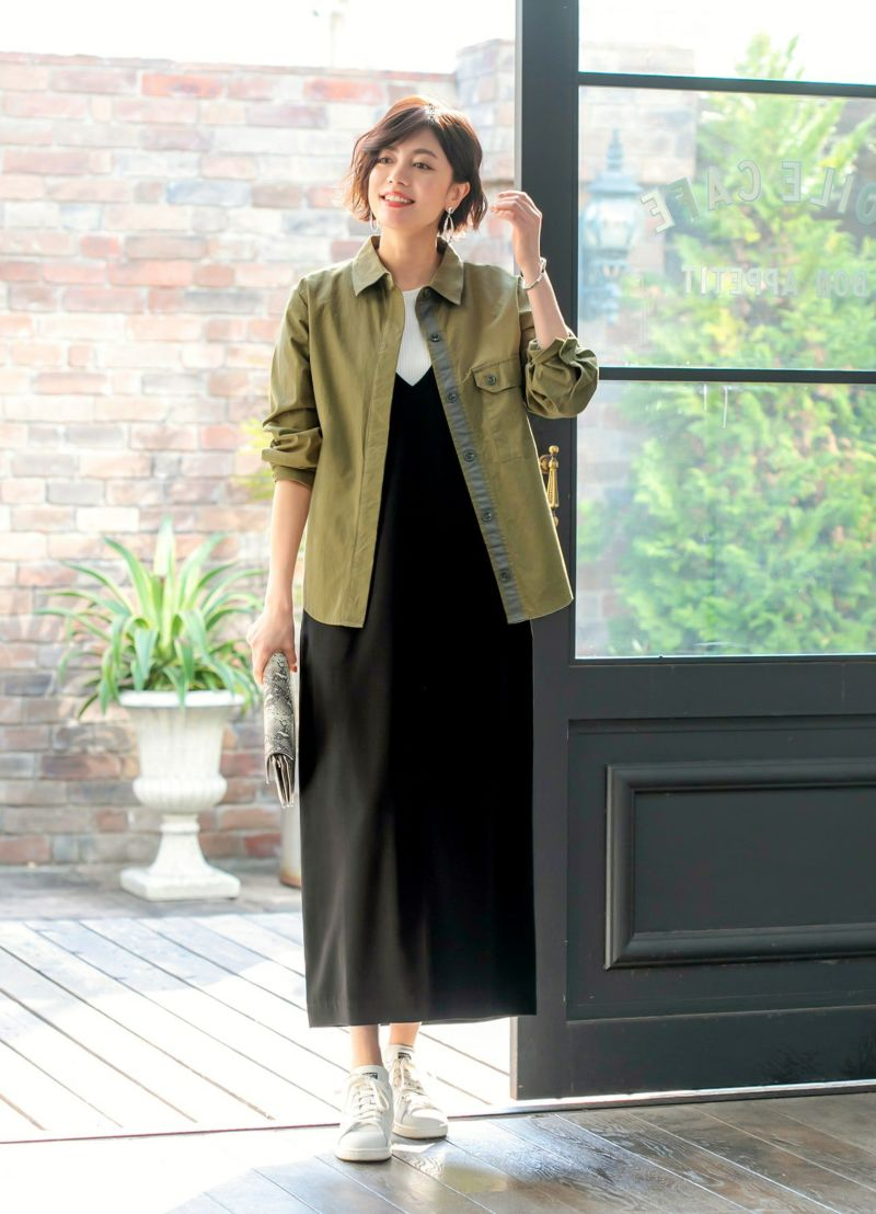 【LUXE】バイオ加工ツイルシャツジャケット