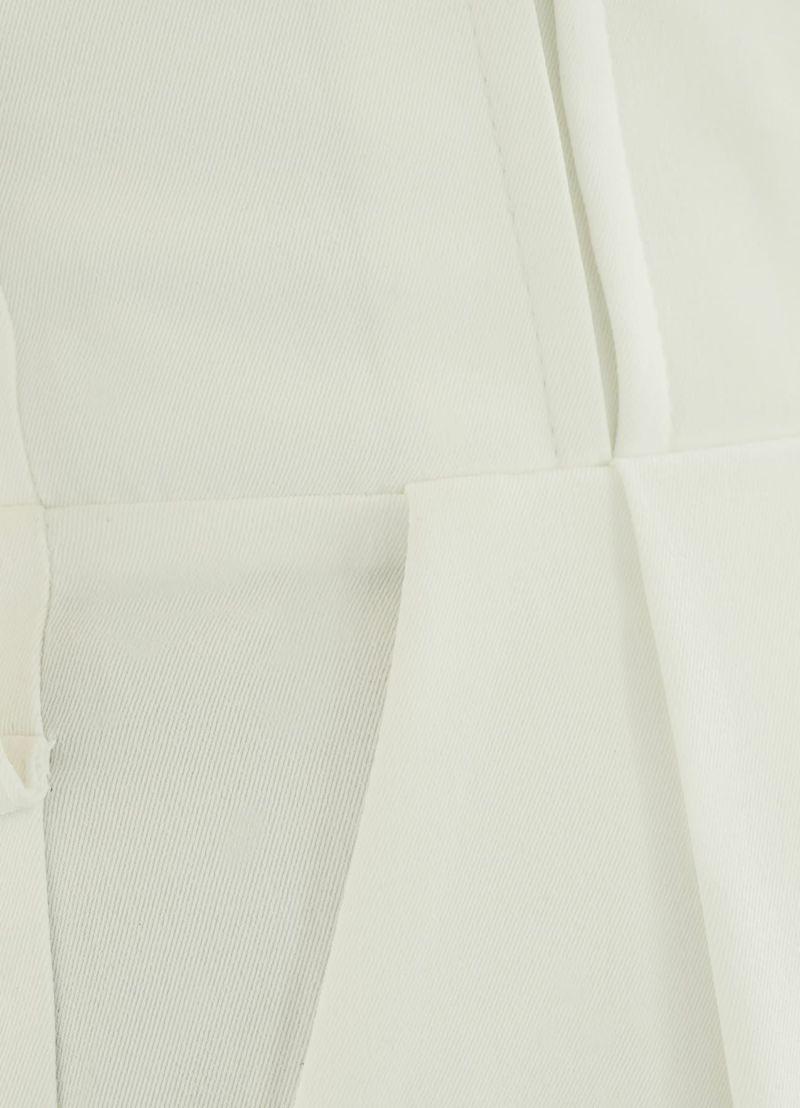 着用イメージ 166cm ホワイト 着用サイズ S