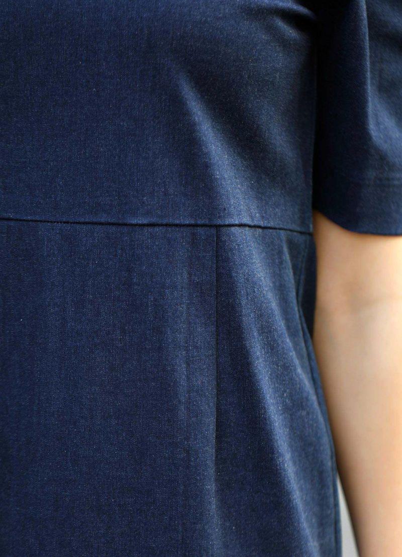 着用イメージ 157cm 着用サイズS ブルー
