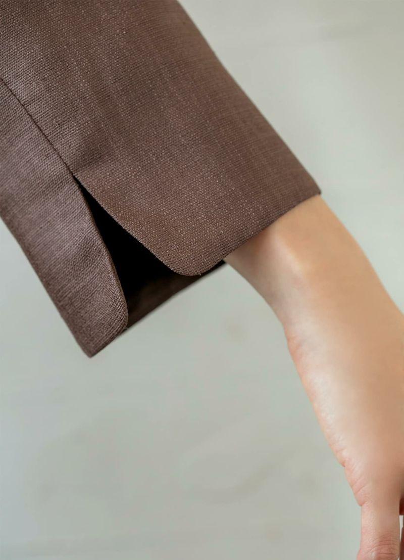 着用イメージ 168cm 着用サイズ S ブラウン