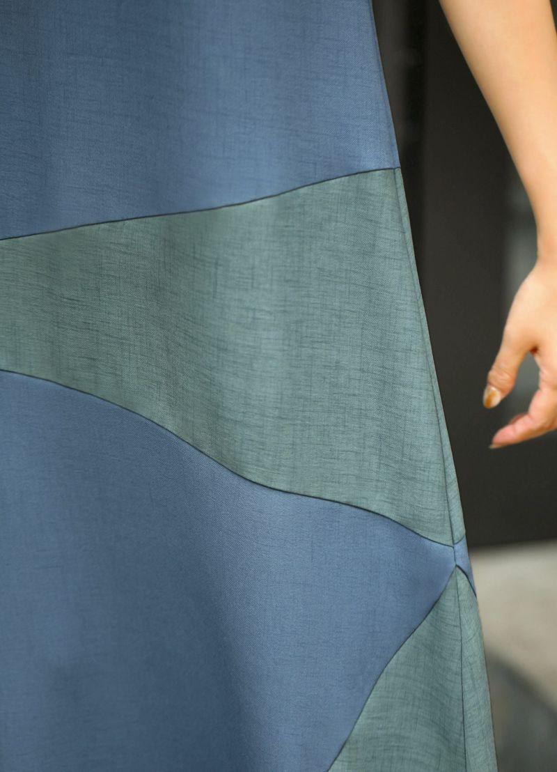 着用イメージ 168cm ブルーミックス