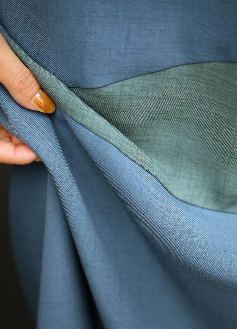 着用イメージ 157cm ブルーミックス