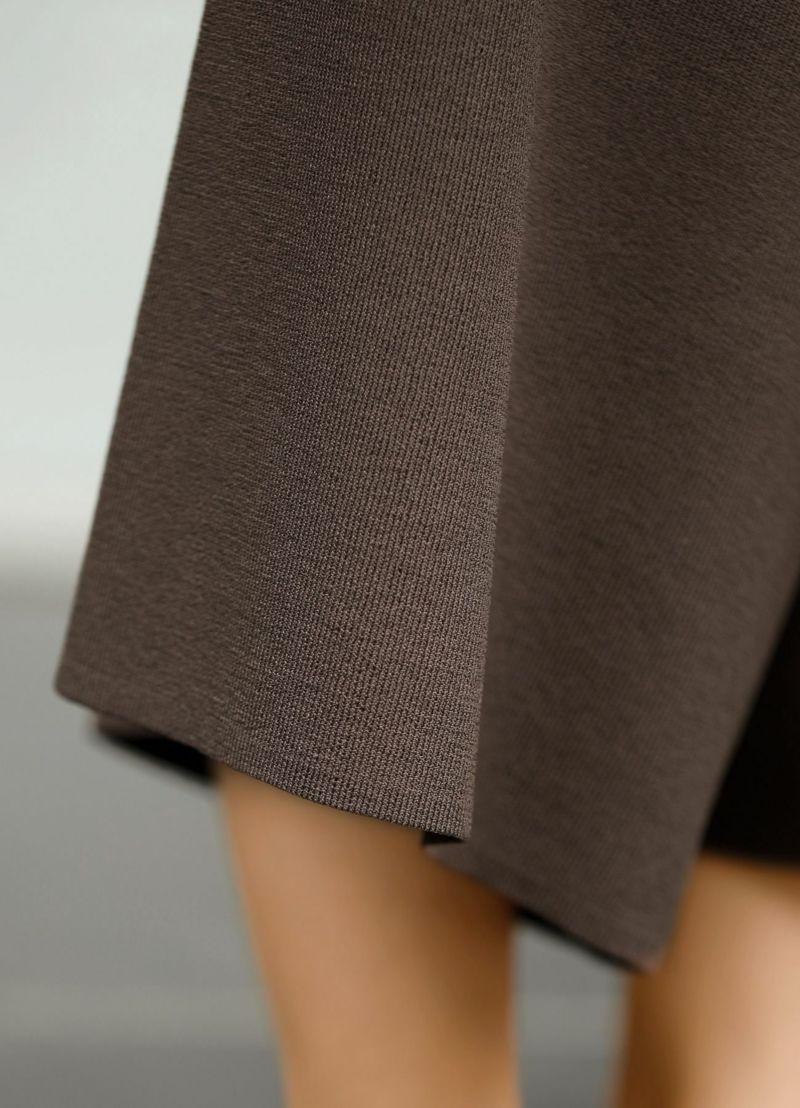 着用イメージ 157cm ブラウン