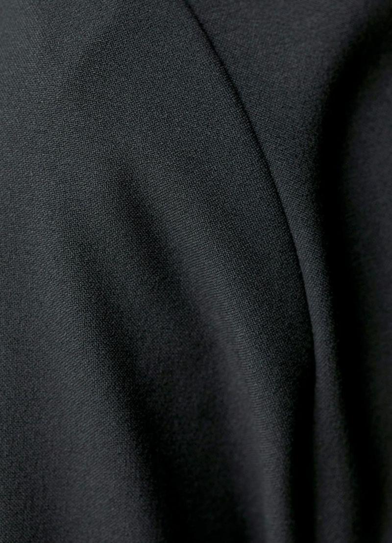 着用イメージ 168cm ブラック 着用サイズ 02