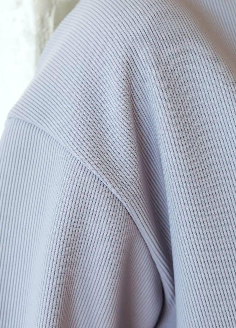 着用イメージ 168cm ライラックブルー