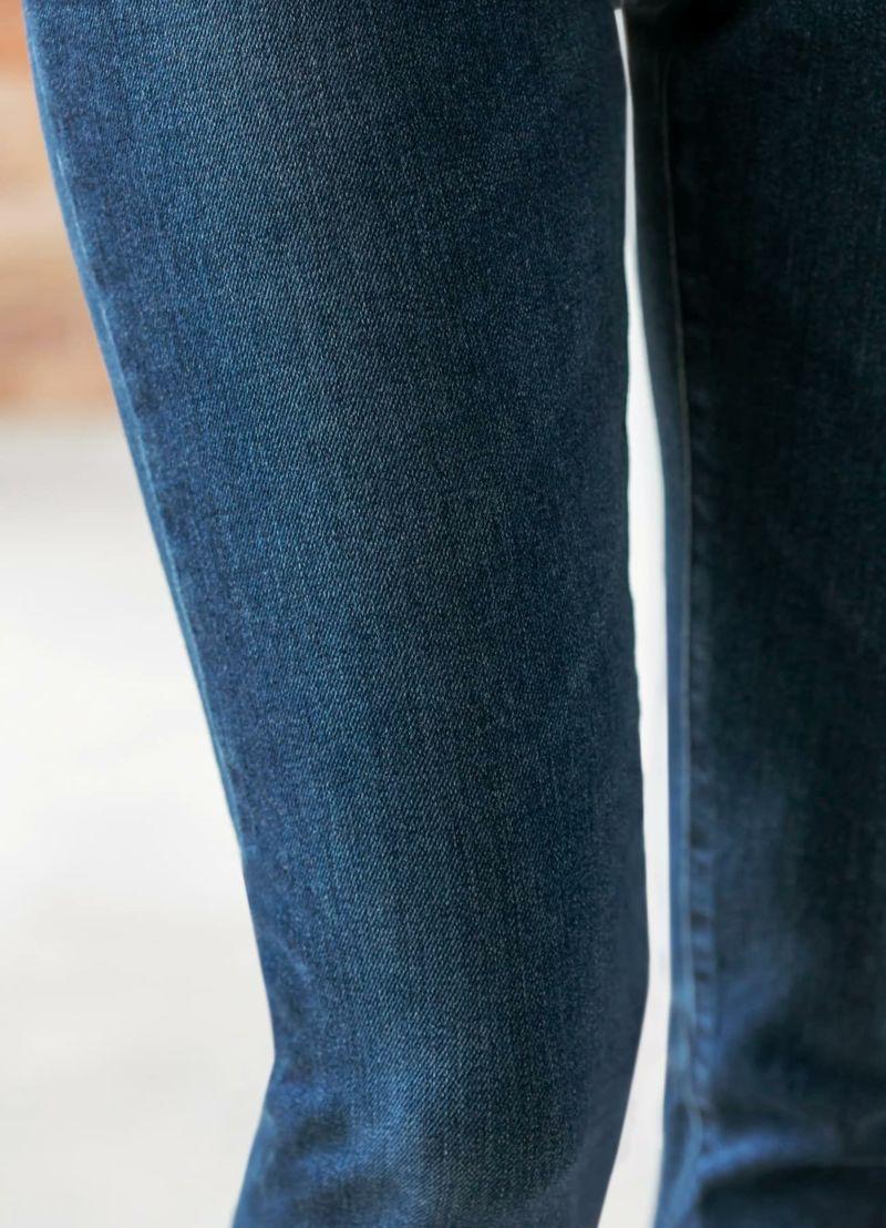 着用イメージ 166cm ダークブルー 着用サイズ S