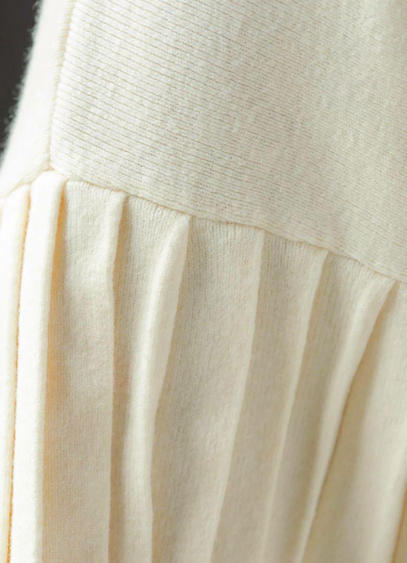 着用イメージ 169cm オフホワイト