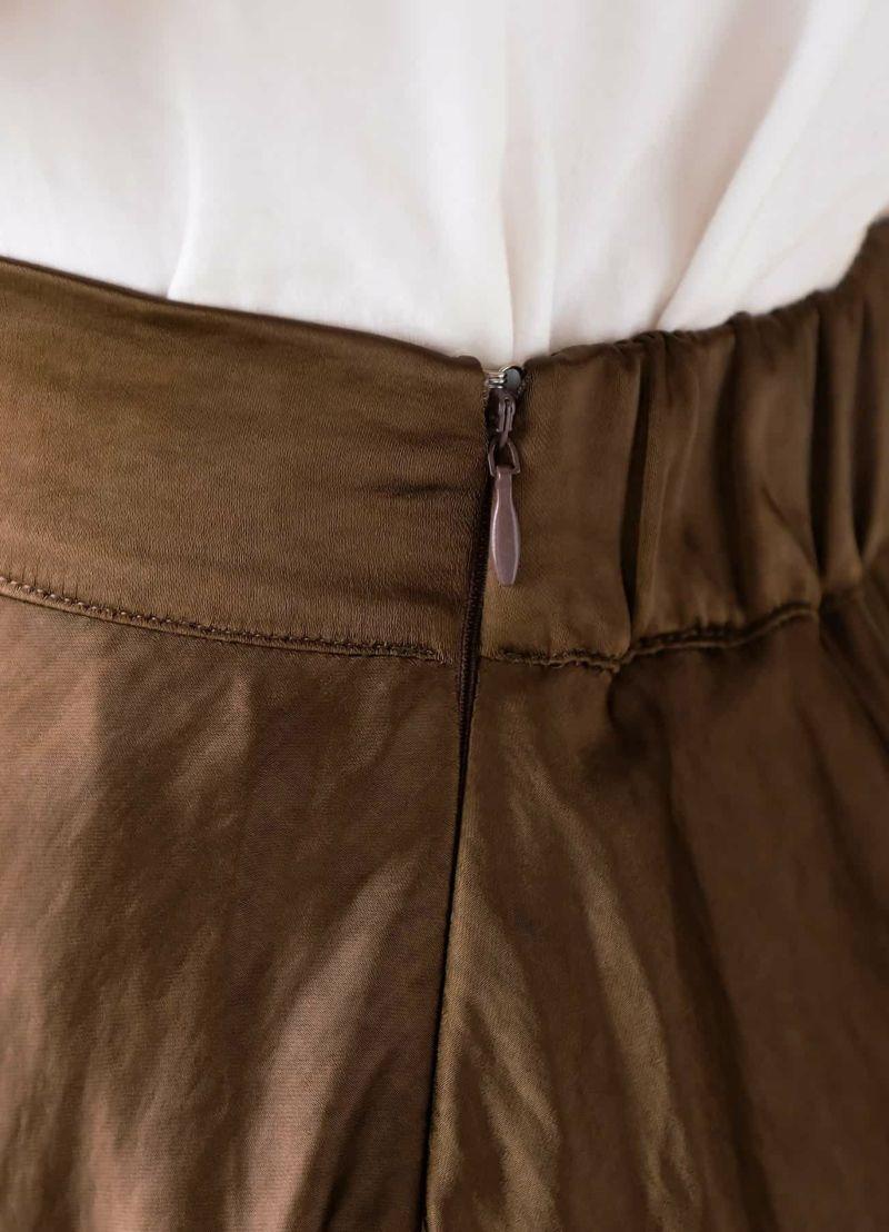 着用イメージ 166cm ブラウン