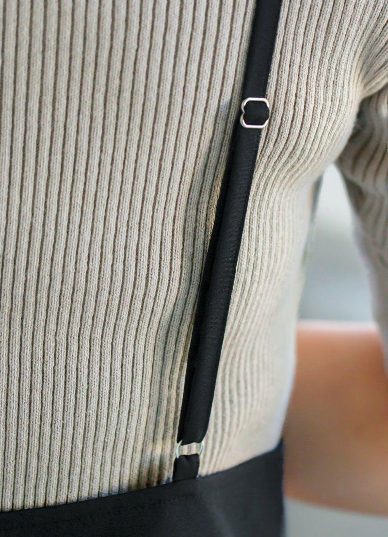 着用イメージ 166cm ブラック 着用サイズ S