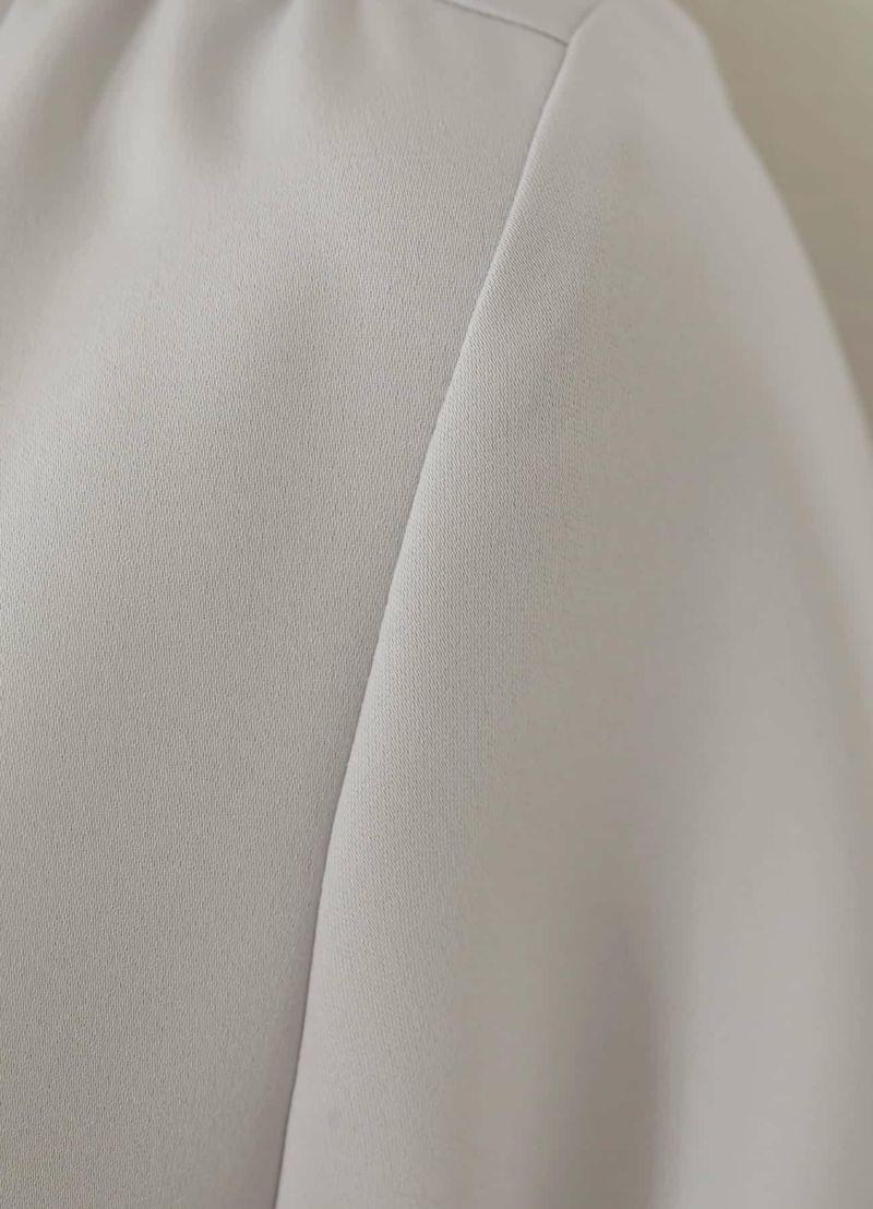 着用イメージ 166cm ライトグレー