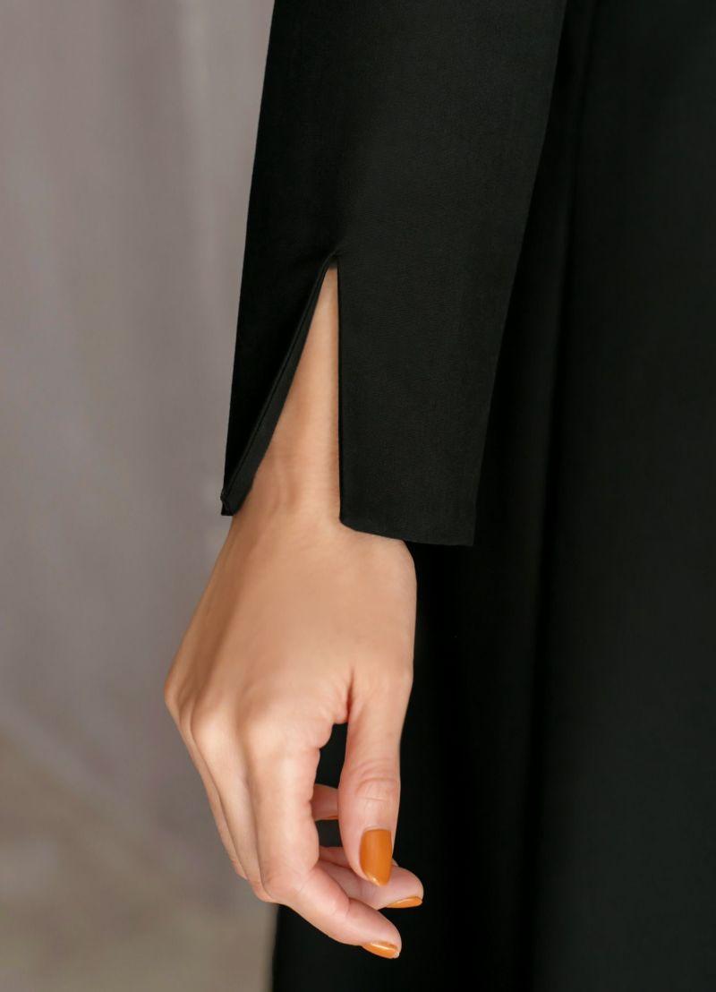 着用イメージ 166cm ブラック 着用サイズ 02