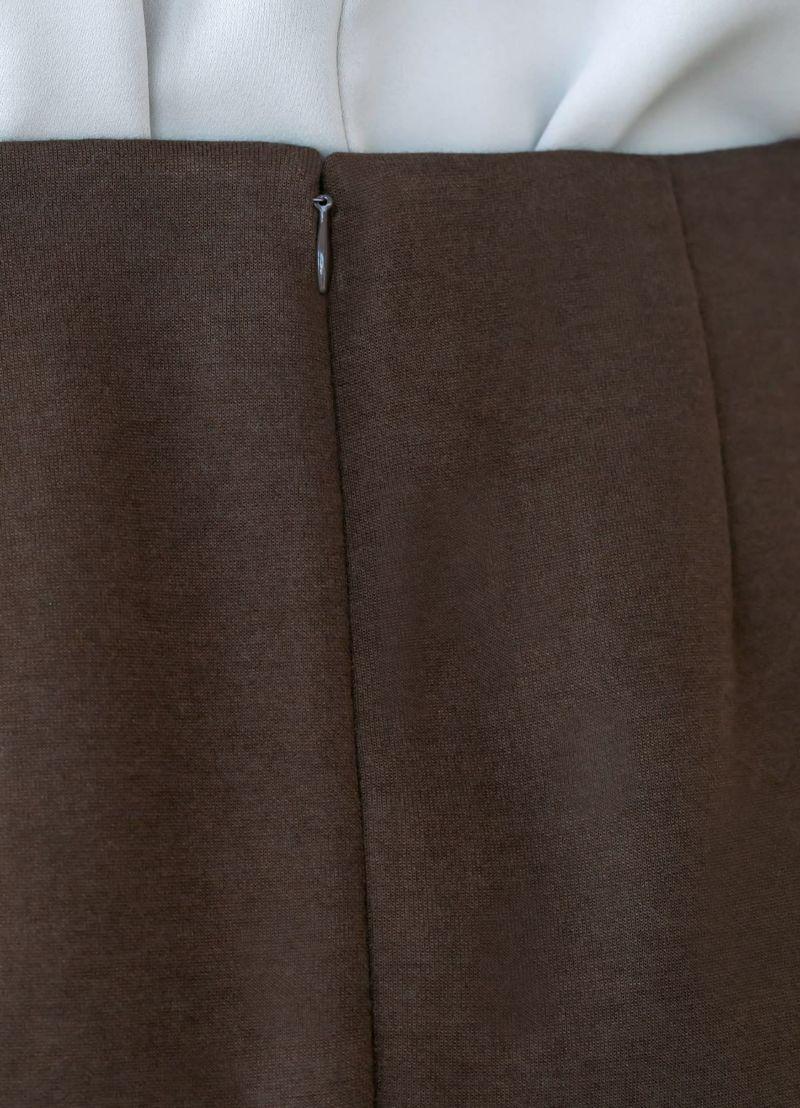着用イメージ 169cm ニュアンスブラウン 着用サイズ S