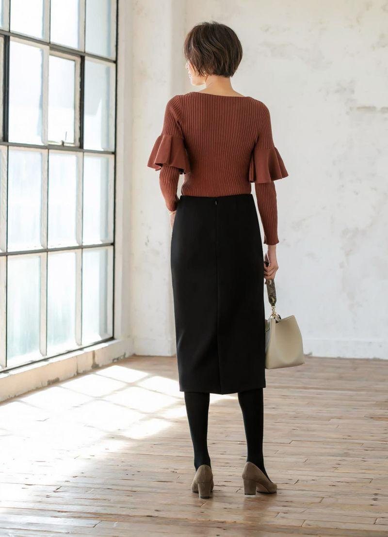 着用イメージ 169cm ブラック 着用サイズ 通常タイプ S