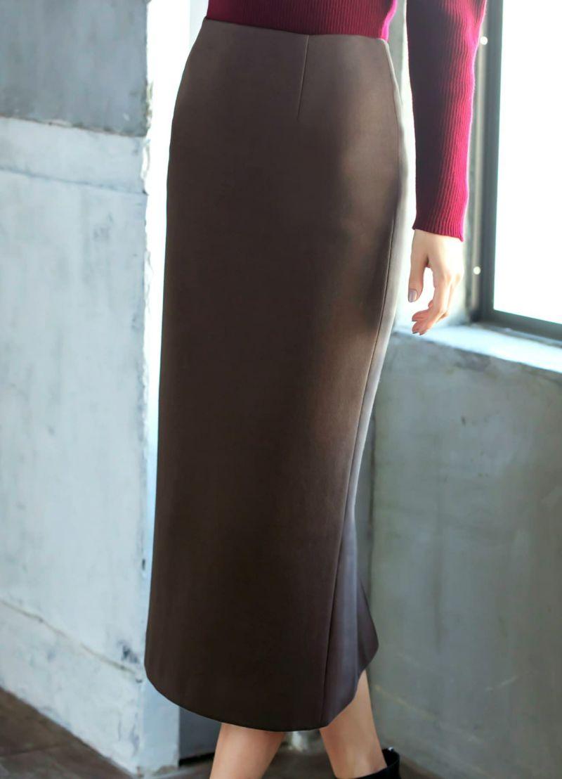 着用イメージ 169cm ニュアンスブラウン 着用サイズ 通常タイプ S