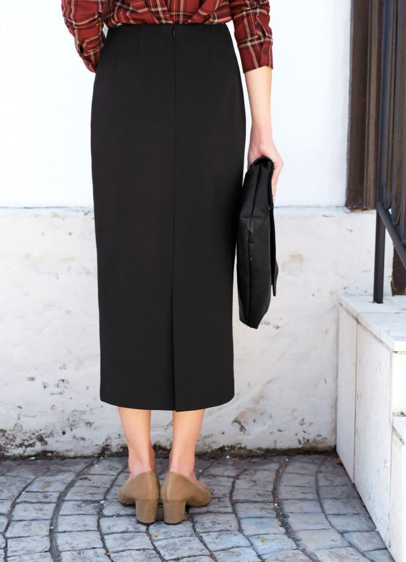 着用イメージ 168cm ブラック 着用サイズ 通常タイプ S