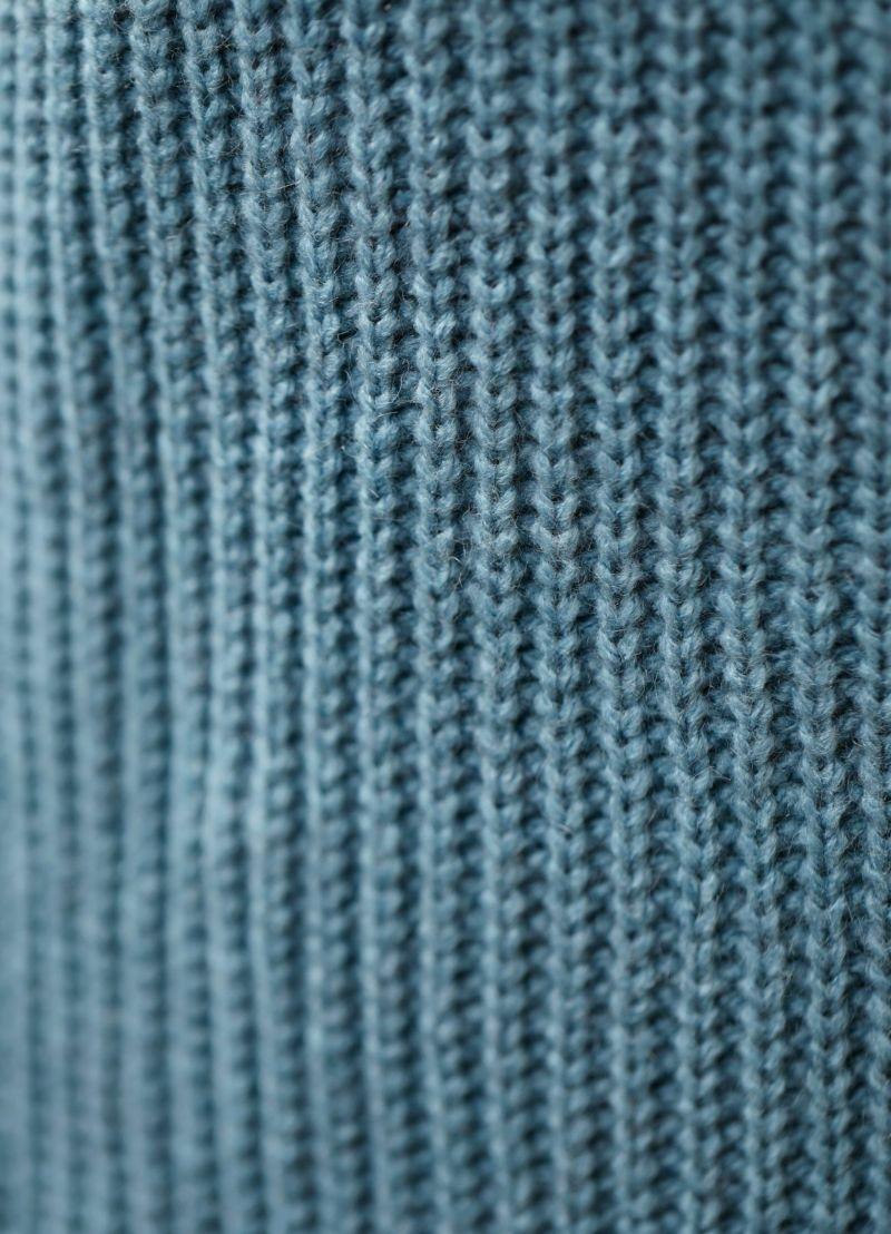 着用イメージ 157cm ライトブルー