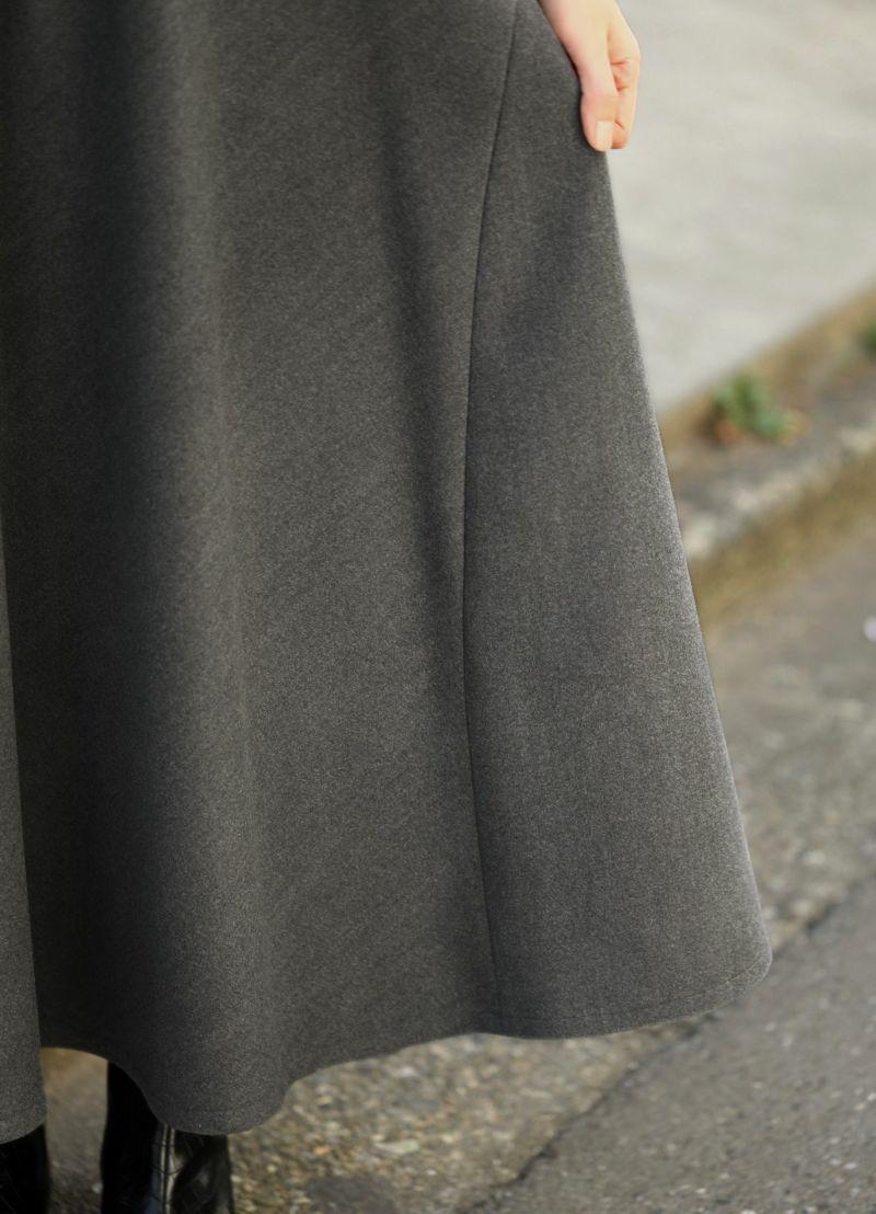 着用イメージ 167cm ミドルグレー Mサイズ