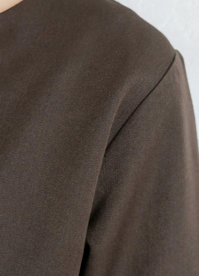 着用イメージ 169cm ブラウン 着用サイズ:02
