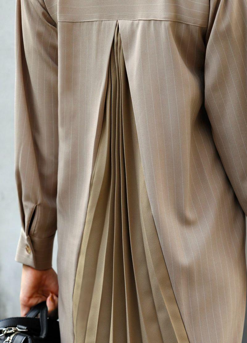 着用イメージ 168cm ブラウン 着用サイズ 02