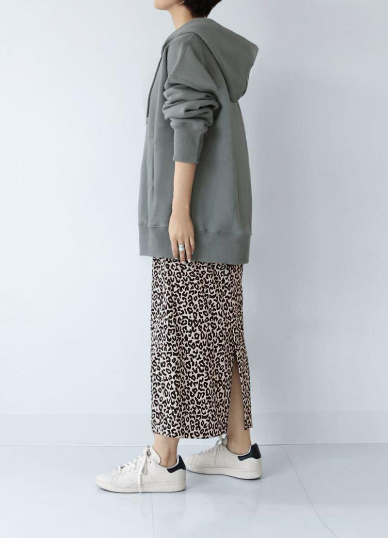 着用イメージ 169cm ブラウン