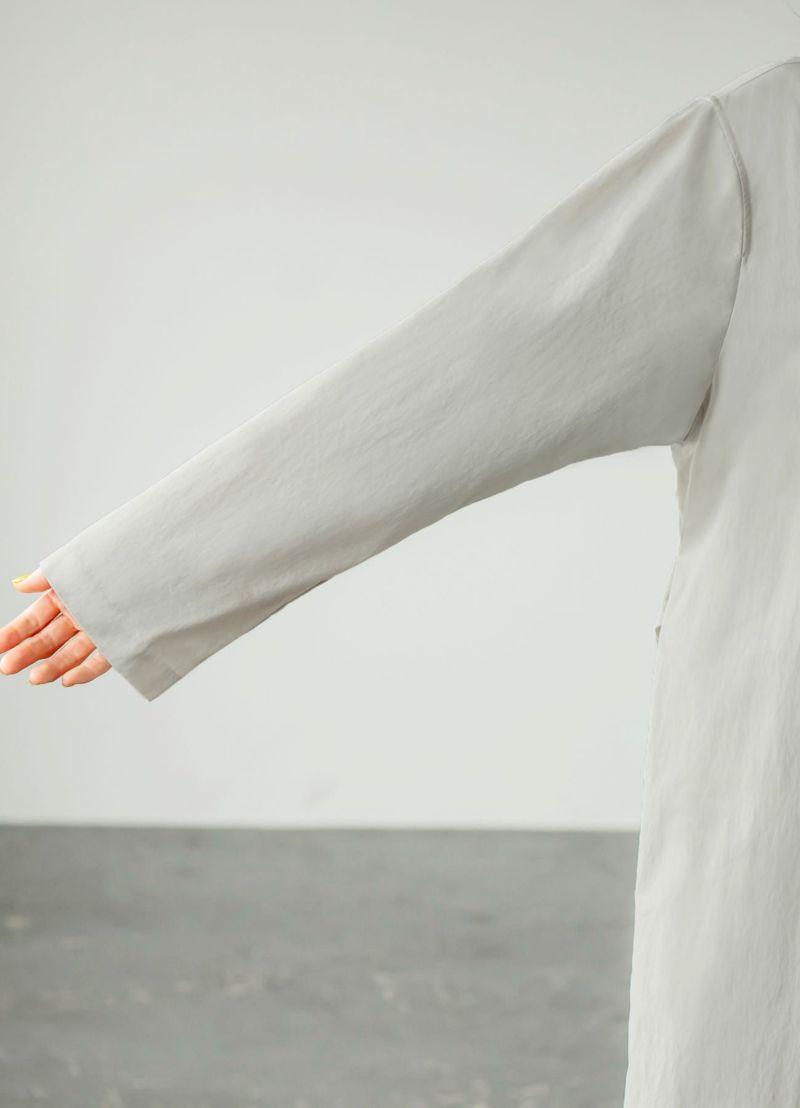 十分にゆとりのある袖幅。下に袖幅太めなお洋服も着れて便利。