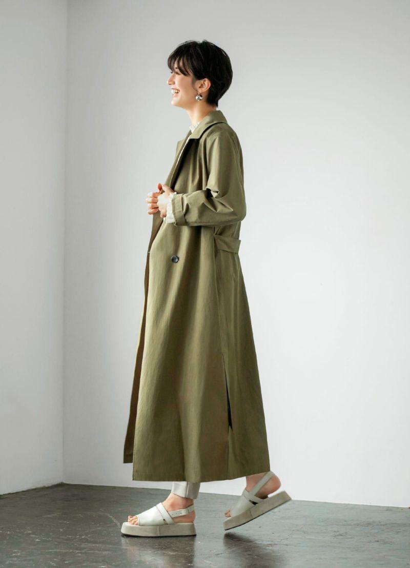 カッコ良くも・女性らしくも着られる使いやすいシンプルデザイン。