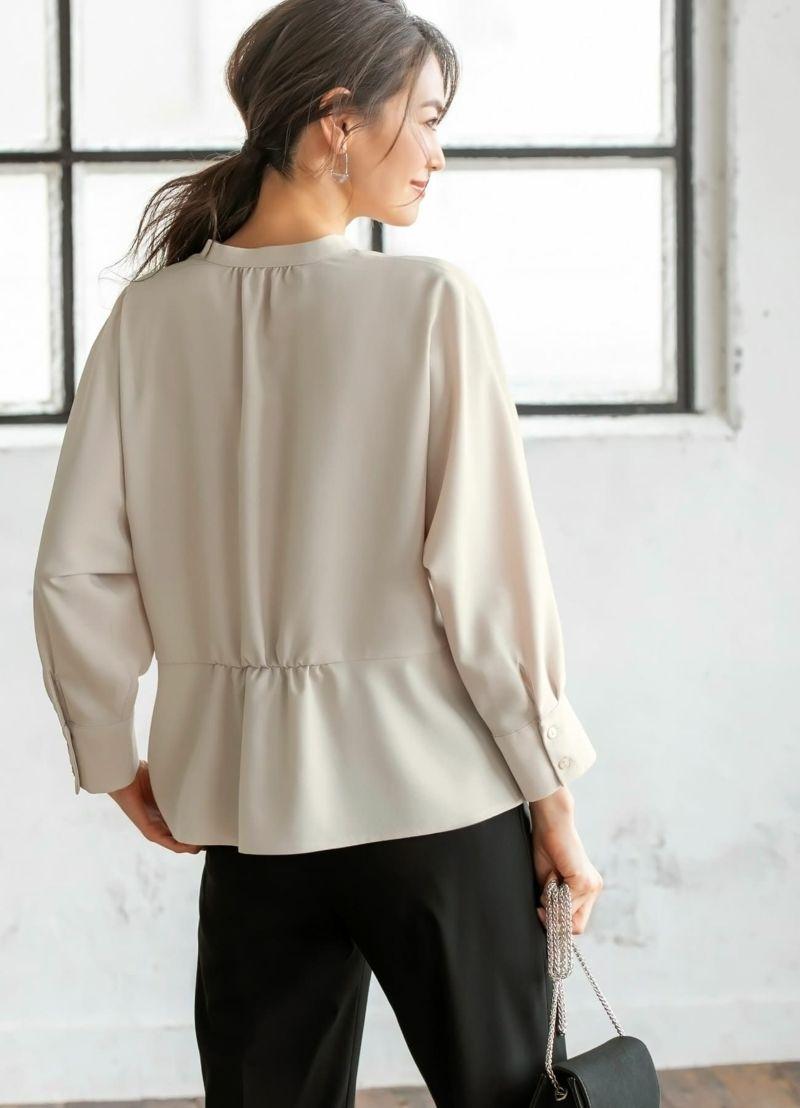 全箇所がふわりと肌から浮く、着用していて安心感のあるデザインです。