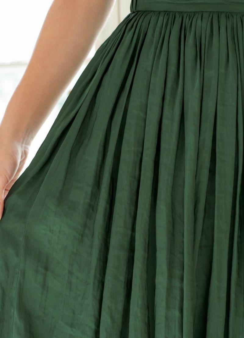 着用イメージ 169cm グリーン Sサイズ