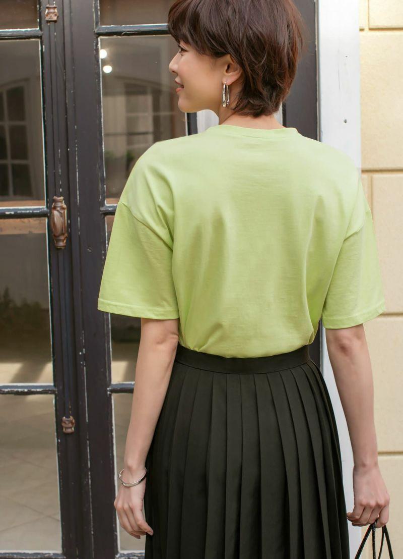 着用イメージ 170cm グリーン