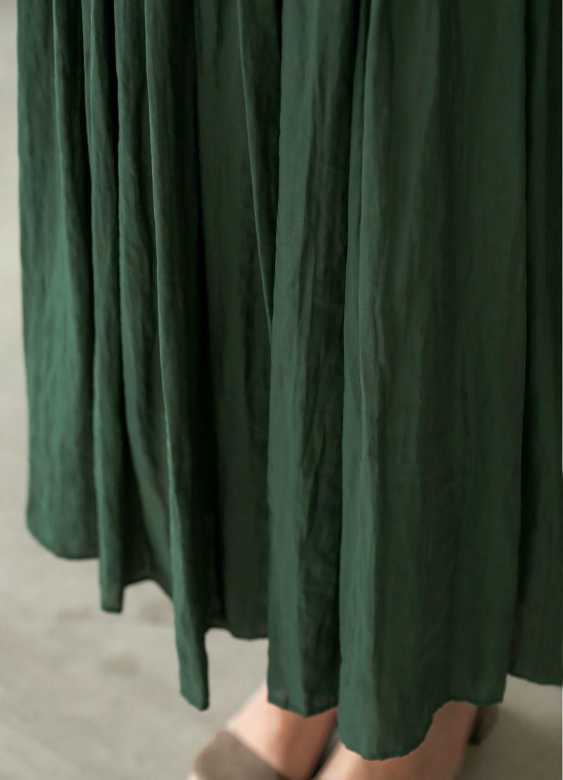 着用イメージ 169cm グリーン