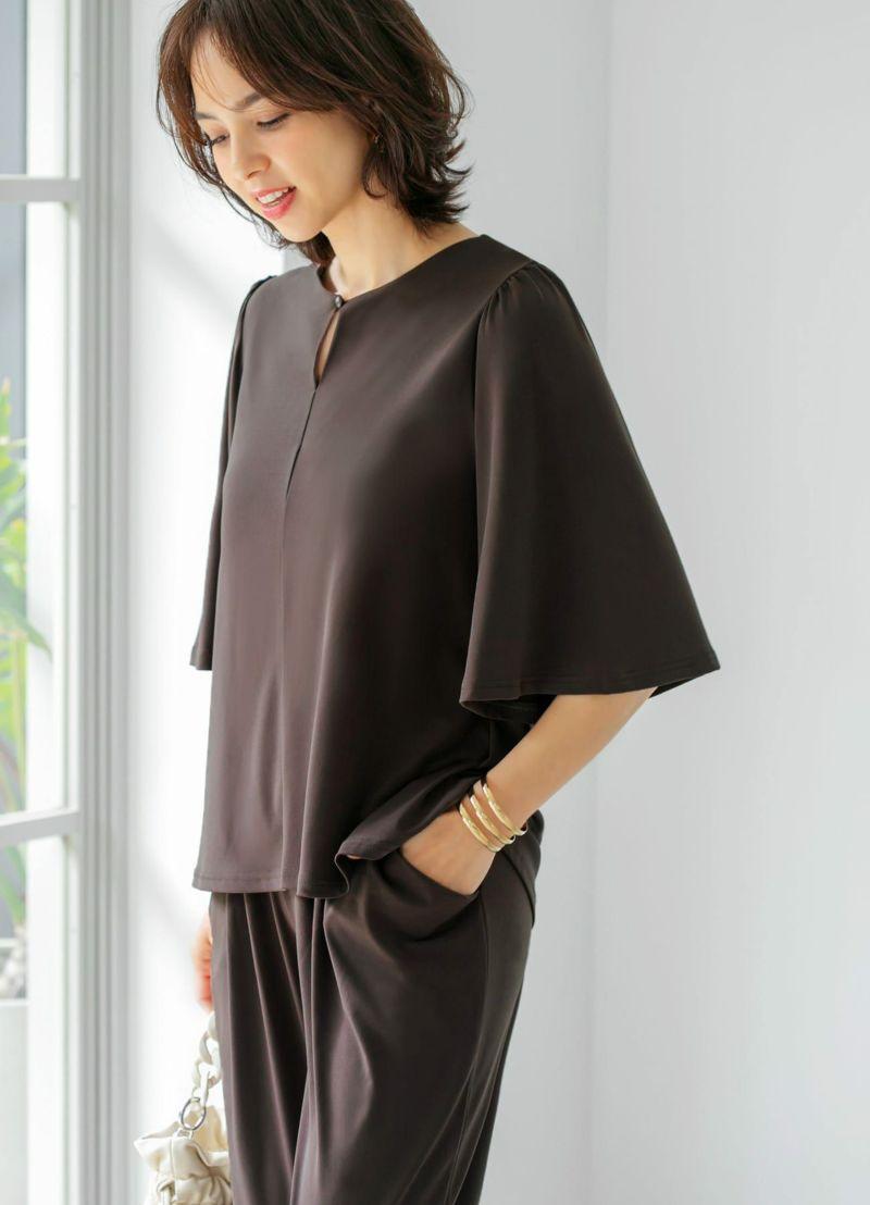 裾インスタイルの背面イメージ