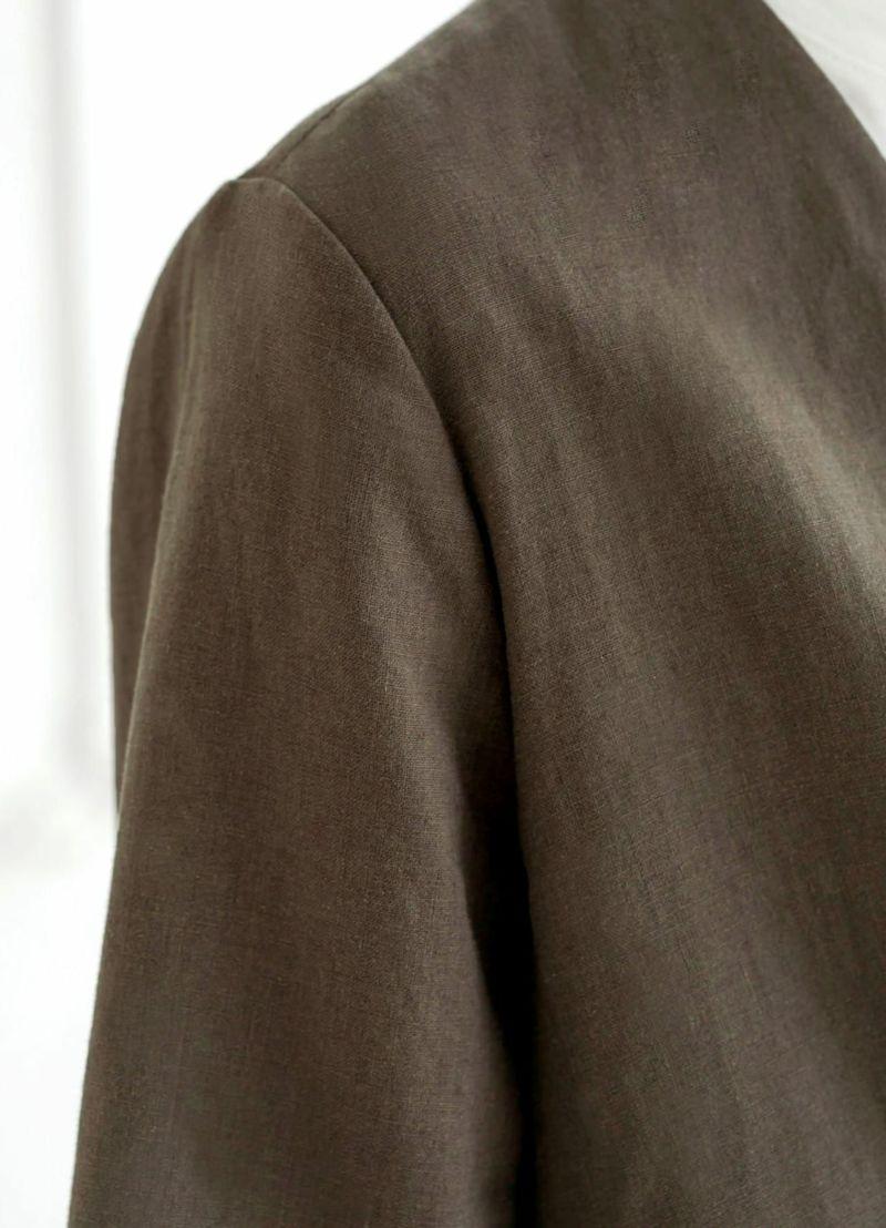 着用イメージ 168cm セピアブラウン